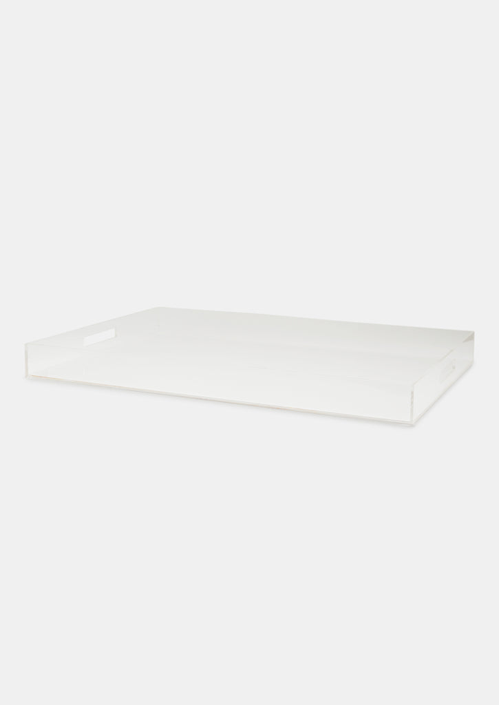 Bragg & Co Perspex tray - Oversized Straight Edge