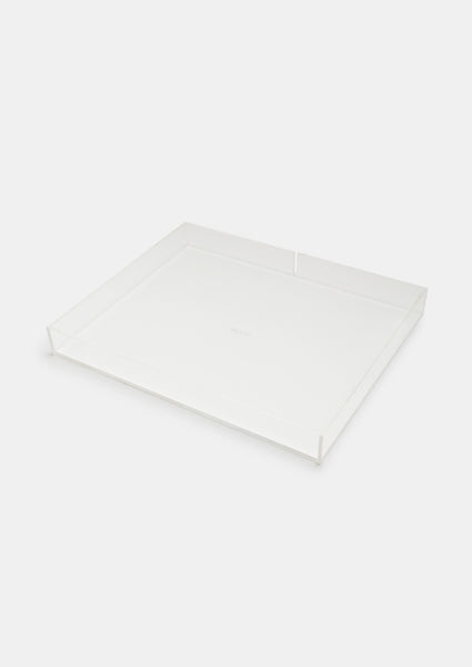 Bragg & Co Perspex tray - Small Straight Edge with cut out