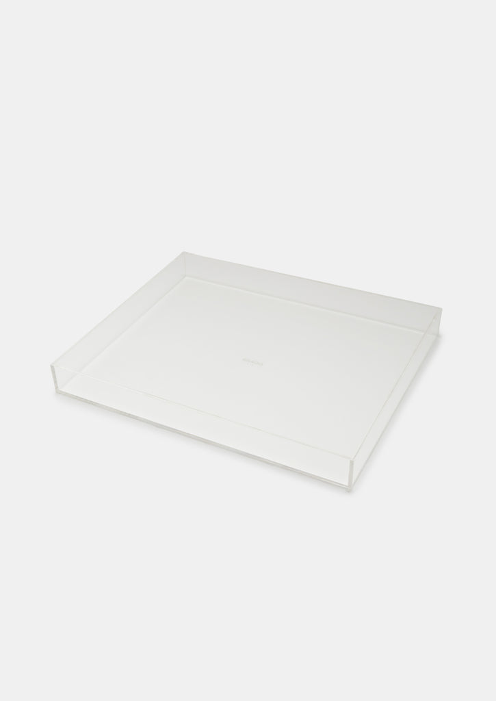 Bragg & Co Perspex tray - Small Straight Edge
