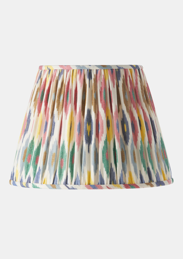 Sybil Gathered Shade - Confetti Ikat
