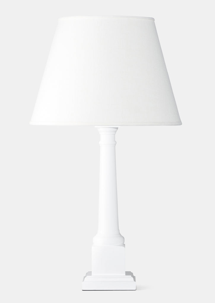 White - Sybil Lamp Base