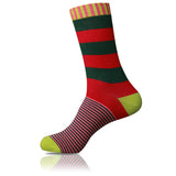 Dapper Elf // Striped Socks - Zockz