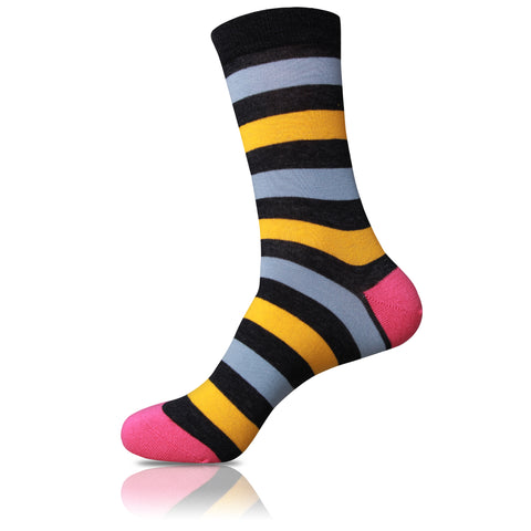 Jammin Hive // Striped Socks - Zockz