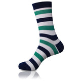 Spearmint // Striped Socks - Zockz