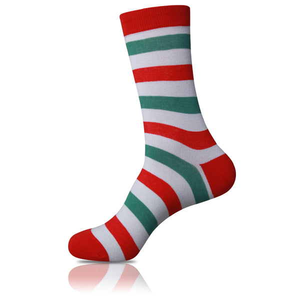 Candy Cane // Striped Socks - Zockz