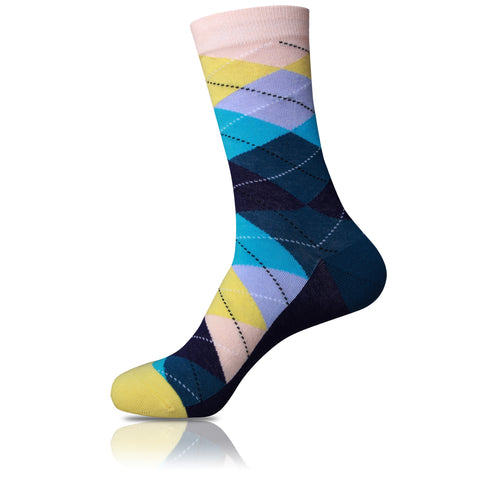 Double Edged // Argyle Socks - Zockz