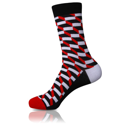 Race Track // Patterned Socks - Zockz
