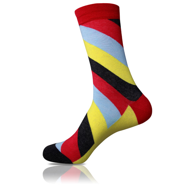 Slanty // Striped Socks - Zockz