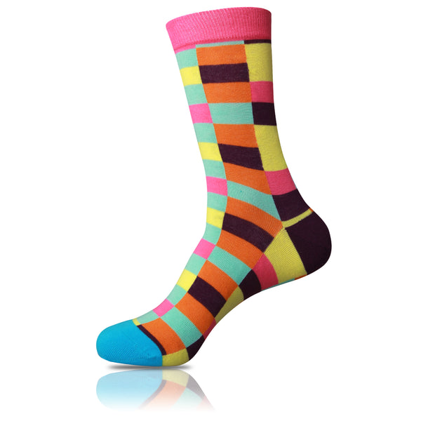 Wildly Pastel // Patterned Socks - Zockz