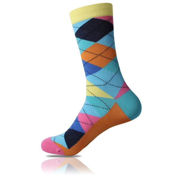 Beach Blues // Argyle Socks - Zockz