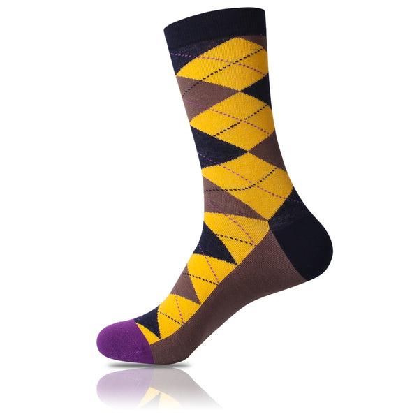 Sunflower // Argyle Socks - Zockz