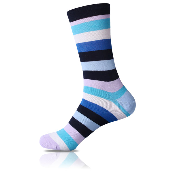 Fluorescent // Striped Socks - Zockz