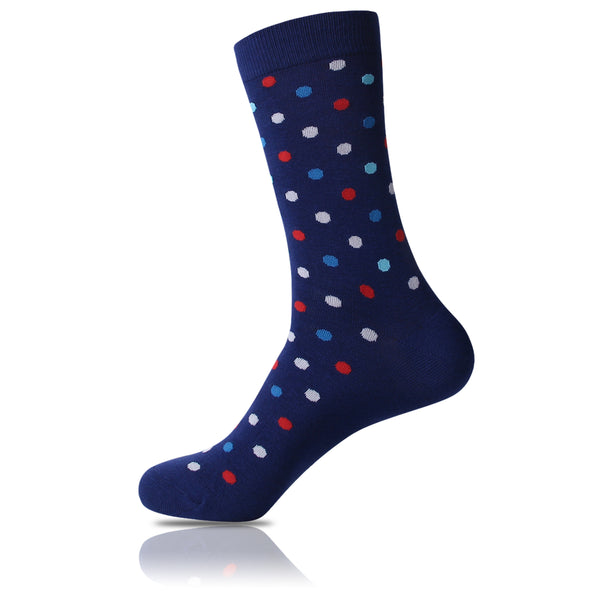 Patriot // Polka Dot Socks - Zockz