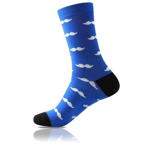 La Moustache Bleu // Patterned Socks - Zockz