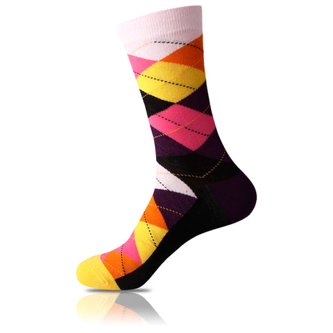 Post-Its // Argyle Socks - Zockz