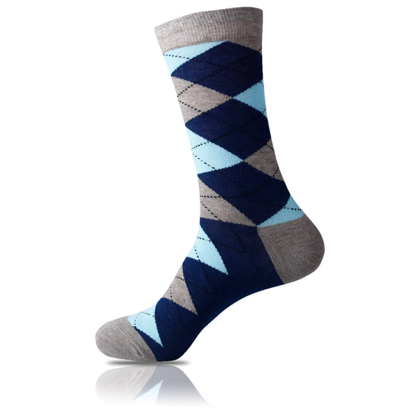 Cool Mint // Argyle Socks - Zockz