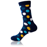 Gold Rush // Polka Dot Socks - Zockz