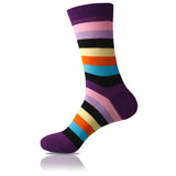 Purple Love // Striped Socks - Zockz