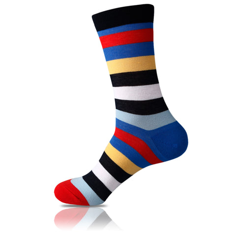 Stacked Up // Striped Socks - Zockz