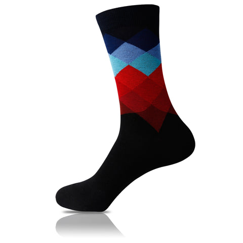 States of Matter // Patterned Socks - Zockz