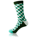 Mint Chocolate // Patterned Socks - Zockz