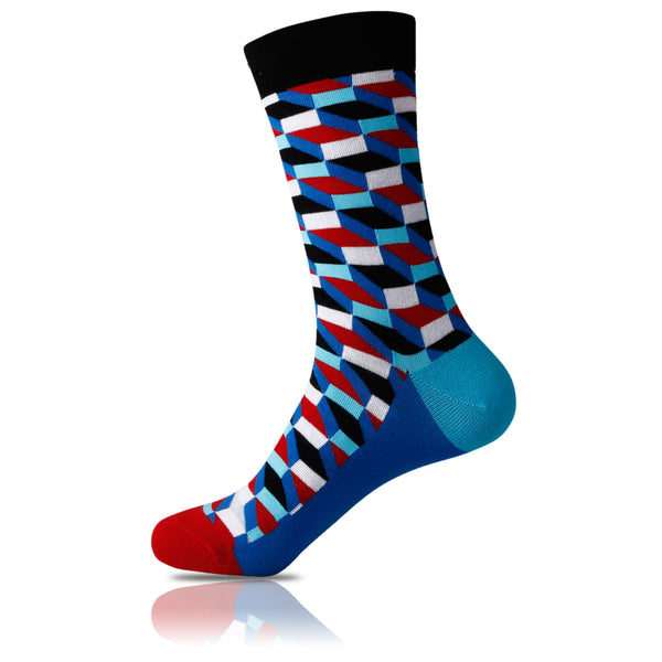 Funky Step // Patterned Socks - Zockz