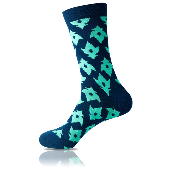 Ninja Star // Patterned Socks - Zockz