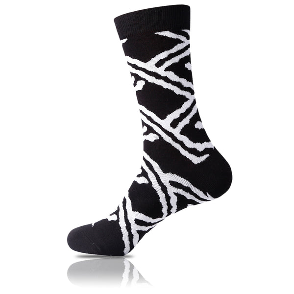 Africa // Patterned Socks - Zockz
