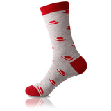 Red Hat // Patterned Socks - Zockz