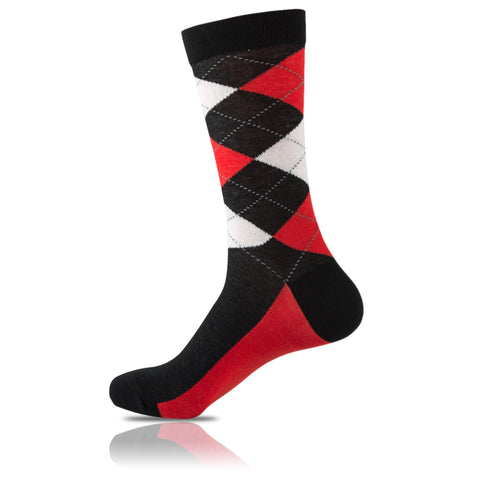 Marilyn Monroe // Argyle Socks - Zockz