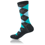 Icy Charcoal // Argyle Socks - Zockz