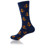 Captain Blue // Patterned Socks - Zockz