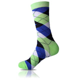 Pastel Fields // Argyle Socks - Zockz
