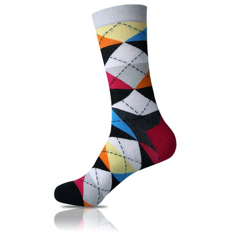 Connect the Dots // Argyle Socks - Zockz