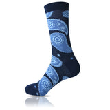 Paisley Blues // Patterned Socks - Zockz
