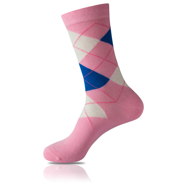Strength. Courage. Hope // Argyle Socks - Zockz
