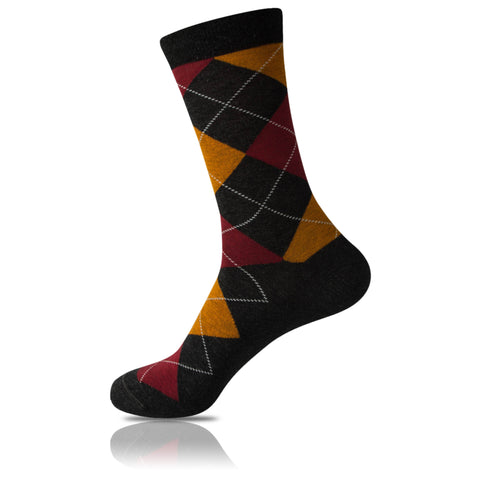 Sweater // Argyle Socks - Zockz