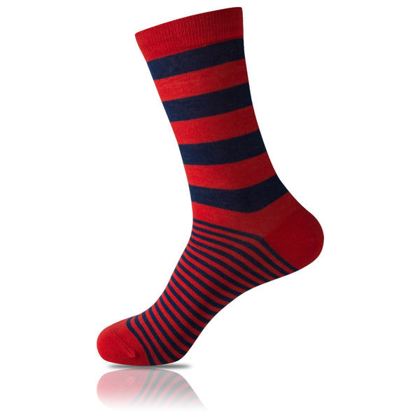 Take Me To Paris // Striped Socks - Zockz