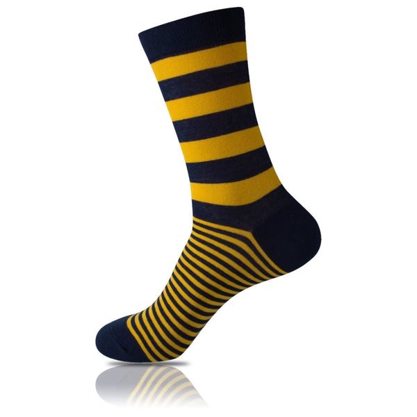 Busy Bee // Striped Socks - Zockz