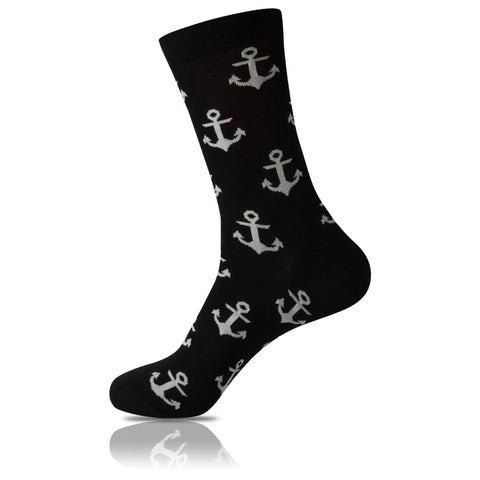 Captain Black // Patterned Socks - Zockz
