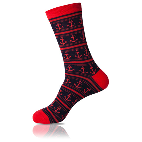 Red Eye // Patterned Socks - Zockz