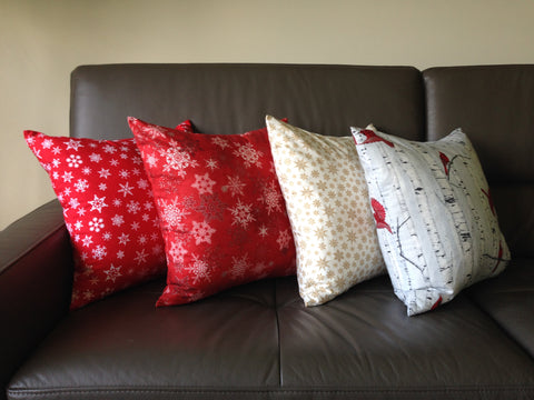 Lauren Unlimited custom made Christmas cushion order