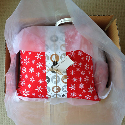 Lauren Unlimited custom Christmas order ready to be dispatched