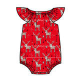 Baby Girls Christmas Playsuit