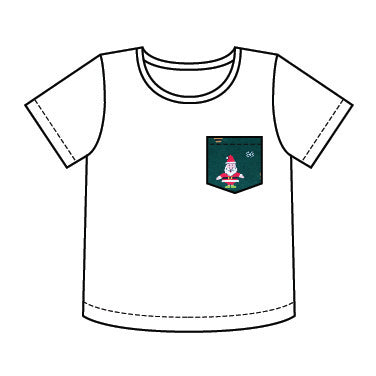 Boys Christmas Pocket T-Shirt