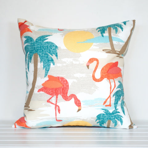 Lauren Unlimited Flamingo outdoor cushion