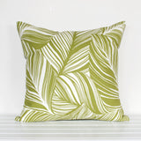 Lauren Unlimited Greenery Botanical Leaf Patterned Cushion Cover