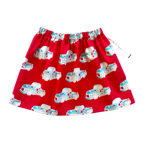 Little Dragon by Lauren Unlimited red truck skirt