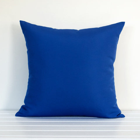 Lauren Unlimited Sapphire Blue Indoor/Outdoor Cushion Cover