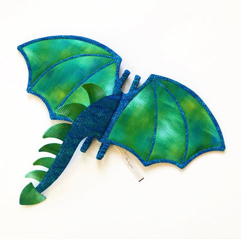 Water Dragon Wings and Tail - Made-to-Order